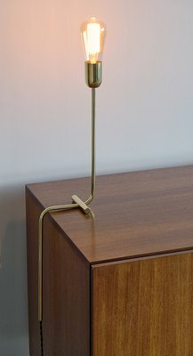 Lampada Da Scrivania In Ottone.Lampada Da Scrivania Moderna In Ottone Massiccio Di Balance Lamp In