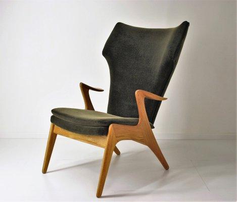 Poltrona con schienale alto di Kurt Østervig, anni \'60 in vendita su ...