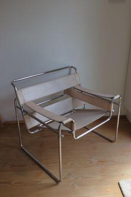 B3 Wassily Stuhl Von Marcel Breuer Für Gavina 2