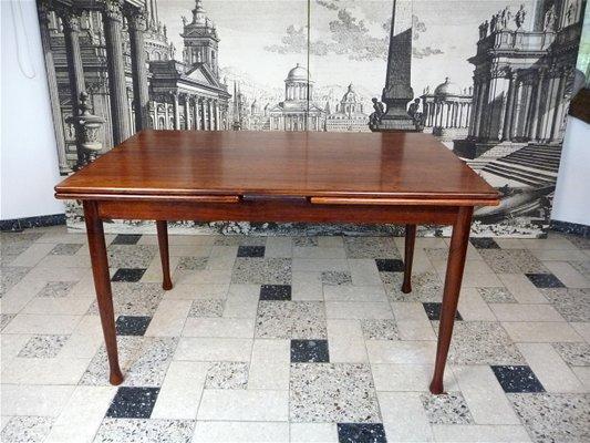 Table De Salle A Manger Moderne Extensible En Palissandre 1960s