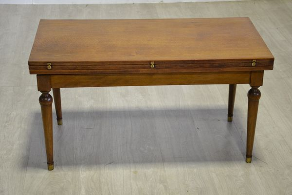 Oak And Beech Expandable Coffee Table 1950s 1