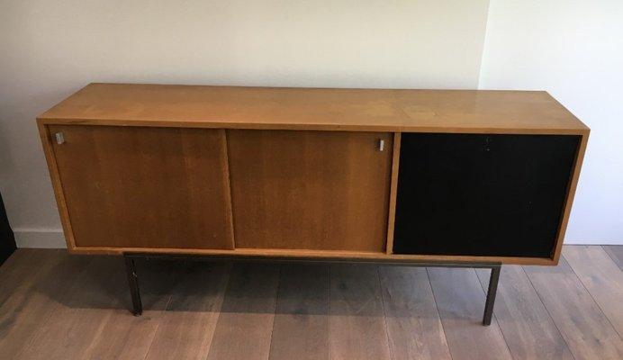 Credenza Con Bar : Credenza con due ante scorrevoli mobile bar e base in metallo