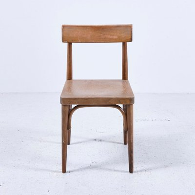 Vintage Wooden Chair, 1950s 1 - Vintage Wooden Chair, 1950s For Sale At Pamono