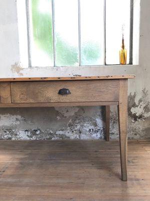 Ordinaire Vintage Farmhouse Table In Pine U0026 Oak 16