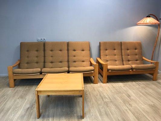 Schwedisches Vintage Wohnzimmer Set Von Yngve Ekstrom Für Swedese 1