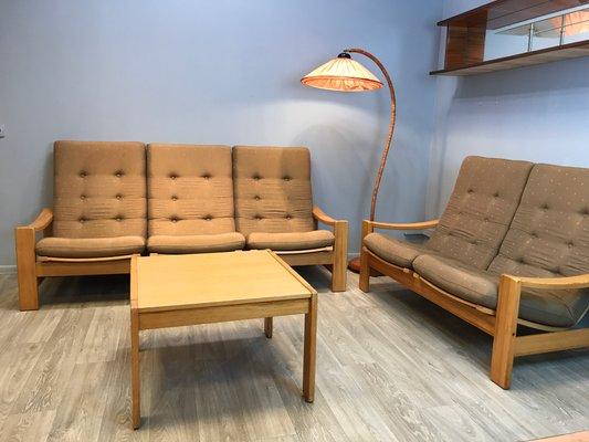 Schwedisches Vintage Wohnzimmer Set Von Yngve Ekstrom Für Swedese 12