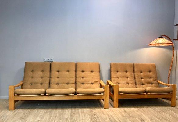 Schwedisches Vintage Wohnzimmer Set Von Yngve Ekstrom Für Swedese 3
