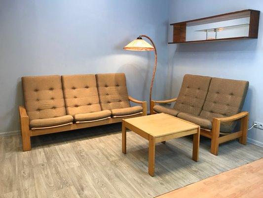 Schwedisches Vintage Wohnzimmer Set Von Yngve Ekstrom Für Swedese 2