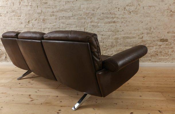 canap vintage en cuir de de sede 2 - Canape Vintage