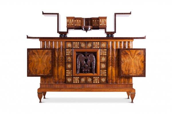 Italian Art Deco Credenza 1930s For, Art Deco Furniture