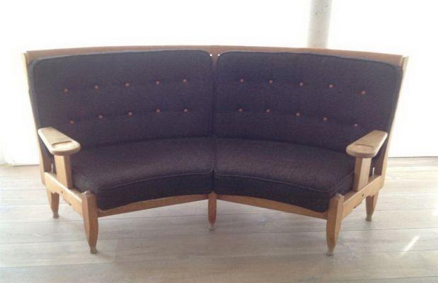 Rundes Sofa Von Guillerme Et Chambron Für Votre Maison 1960er Bei