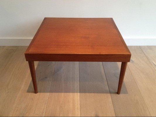 Mid Century Holz Beistelltische 2er Set Bei Pamono Kaufen