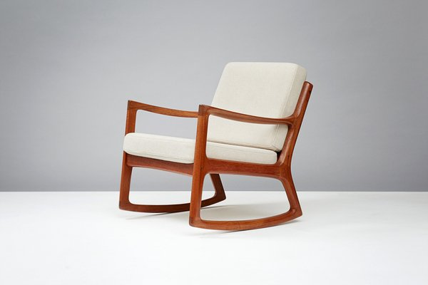Senator Rocking Chair In Teak By Ole Wanscher For France Son