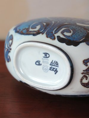 Ceramiche Di Copenaghen Prezzi.Vaso Vintage In Ceramica Di Royal Copenhagen Danimarca Anni 60 In