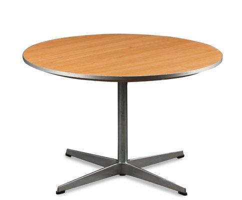 Superbe Vintage Round Coffee Table By Arne Jacobsen U0026 Piet Hein For Fritz Hansen 1