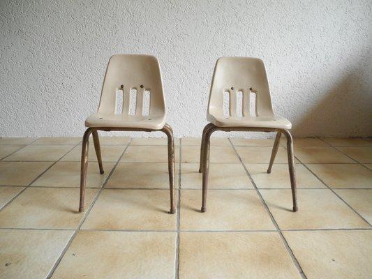 Vintage Industrial Childrenu0027s Chairs From Virco Los Angeles, ...