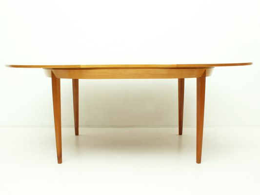 Tavoli Da Pranzo In Legno Allungabili : Tavolo da pranzo allungabile in legno di ciliegio anni 50 in
