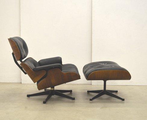 1st Edition Lounge Chair u0026 Ottoman by Ray u0026 Charles Eames for Herman Miller ... & 1st Edition Lounge Chair u0026 Ottoman by Ray u0026 Charles Eames for Herman ...