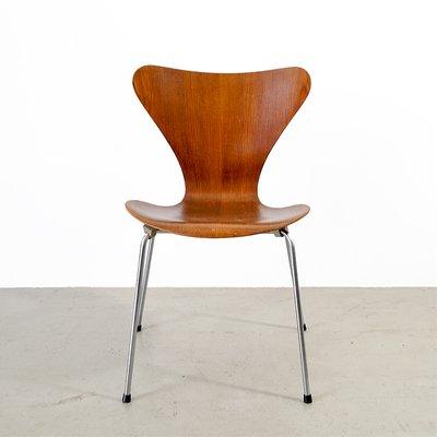 Vintage 3107 Series 7 Stuhl von Arne Jacobsen für Fritz Hansen
