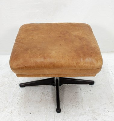 Super Vintage Leather Ottoman Squirreltailoven Fun Painted Chair Ideas Images Squirreltailovenorg