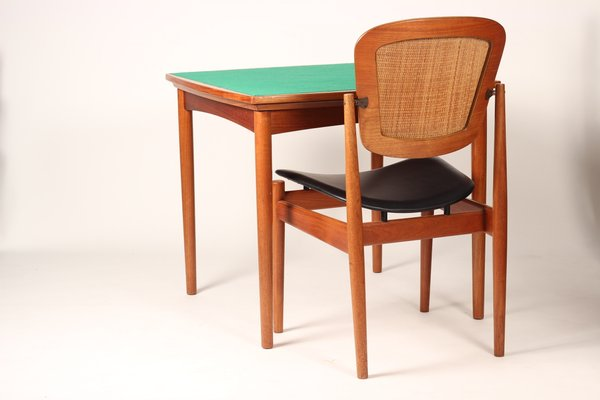 Fabulous Mid Century Modern Extendable Card Table 1960S Caraccident5 Cool Chair Designs And Ideas Caraccident5Info