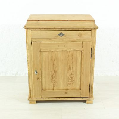 Small Antique Bedside Cabinet, 1890s 1 - Small Antique Bedside Cabinet, 1890s For Sale At Pamono