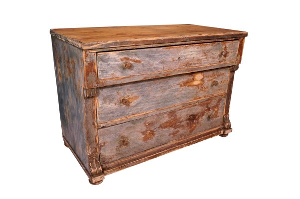 Antique Pine Chest 1 - Antique Pine Chest For Sale At Pamono