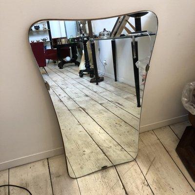 Specchio da parete Mid-Century moderno di Pritoni & Co., Italia ...