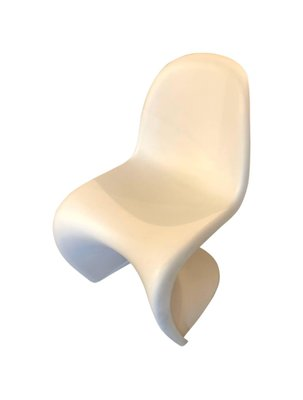 Beau ABS Chair By Verner Panton For Vitra, 1960s