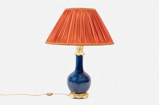Moderne Lampen 19 : Blaue porzellan lampe jh bei pamono kaufen