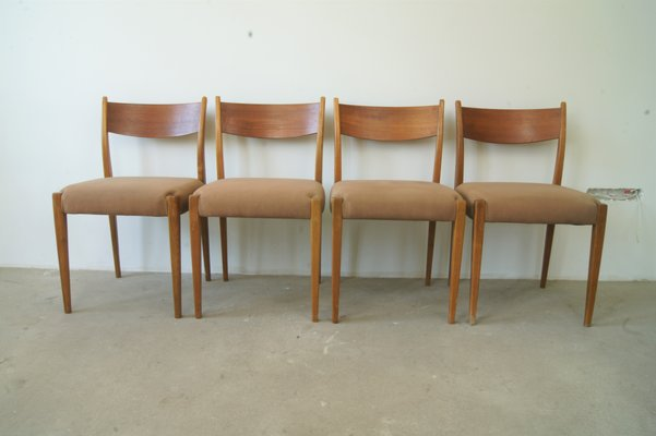 Sedie In Legno Ciliegio.Sedie Mid Century In Teak E Legno Di Ciliegio Danimarca Anni 60