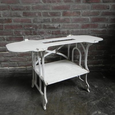 Vintage Cast Iron Side Table For