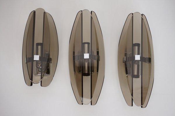 Appliques 3 VecaItalie1960sSet Murales Murales Appliques De De OuZPkXiT