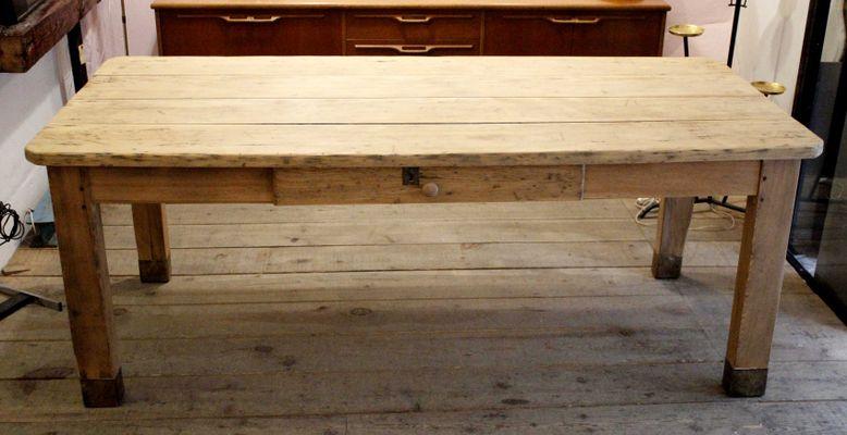 Rustikaler Esstisch 1920er Bei Pamono Kaufen