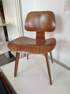 Chaise De Salon DCW Vintage Par Charles Ray Eames Pour Vitra 1