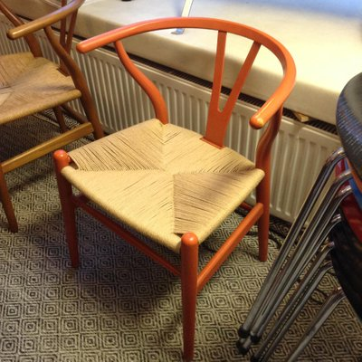 Vintage CH24 Wishbone Chair By Hans Wegner For Carl Hansen