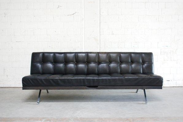 Constanze Leder Sofa Oder Schlafsofa Von Johannes Spalt Für Wittmann