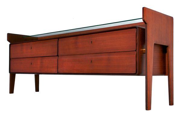 Mobili Anni 50 : Cassettiera mid century in teak di la permanente mobili cantù
