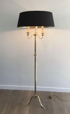 Neoclassical lighting Room Neoclassical 3light Brass Floor Lamp 1960s Dering Hall Neoclassical 3light Brass Floor Lamp 1960s For Sale At Pamono