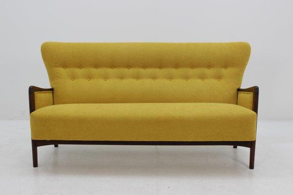 8000 Series 3 Seater Sofa By Soren Hansen For Fritz Hansen, 1960s 1