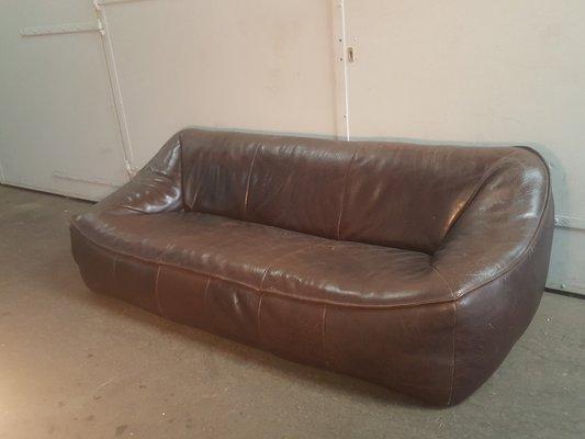 Design Bank Gerard Van De Berg.3 Seater Ringo Sofa By Gerard Van Den Berg For Montis 1980s For