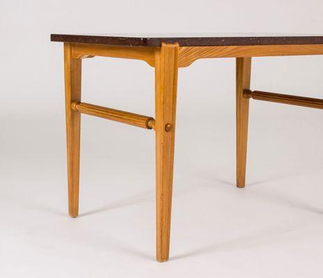 Vintage Marble Side Table By Ulla Fogelklou Skogh, 1940s