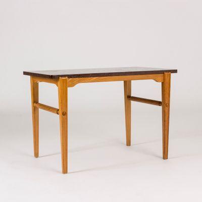 Vintage Marble Side Table By Ulla Fogelklou Skogh, 1940s 1