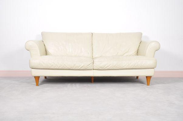 Mid-Century Modern Italian Leather Sofa, 1970s for sale at Pamono