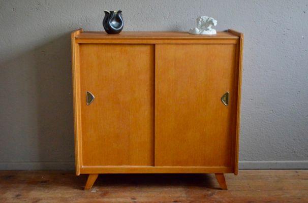 Scarpiera in legno di quercia, anni \'60 in vendita su Pamono