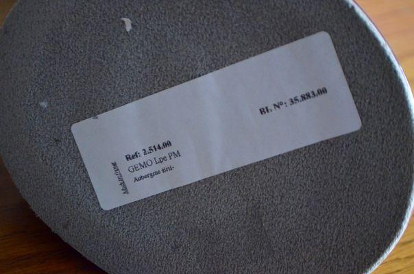 Lampada Scrivania Viola : Lampada da scrivania modello gémo de kostka viola di kostka anni