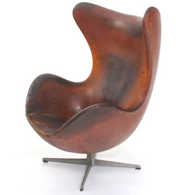 Gut Egg Chair Von Arne Jacobsen, 1960er 1