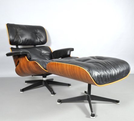 Lounge Chair U0026 Ottoman By Charles U0026 Ray Eames For Vitra, ...