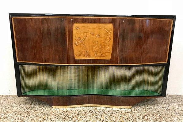 Mid Century Bar Cabinet By Vittorio Di 2