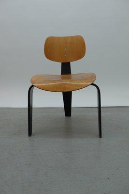 Vintage Se42 Stuhl Von Egon Eiermann Für Wilde Spieth Bei Pamono